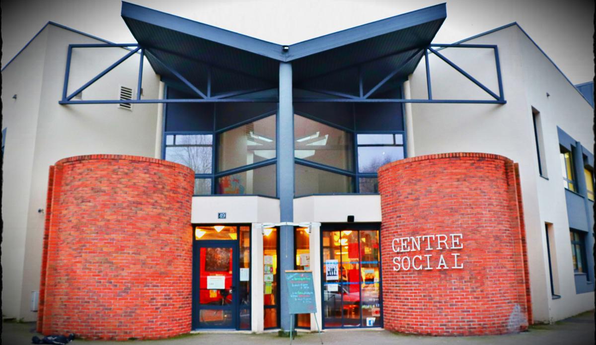 entrée du centre social de Cleunay