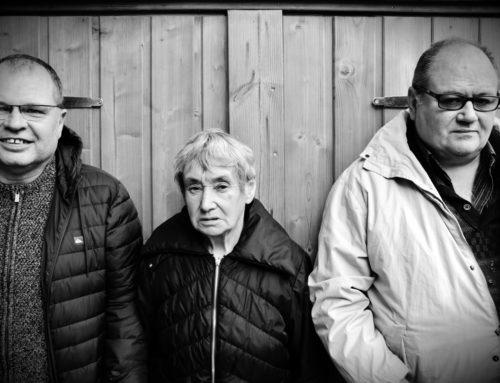 Michel, Odette et Bernard