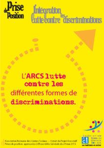 Intégration Luttre contre les discrimiations Prise de position 3