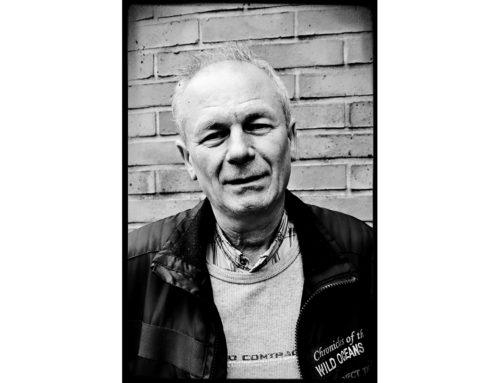 Gabriel, bénévole et ancien co-président de l'ARCS