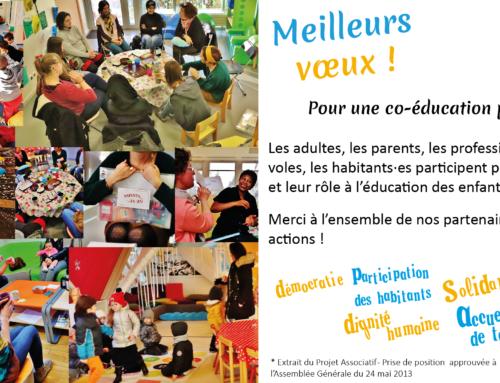 Voeux de l'Association Rennaise des Centres Sociaux 16 janvier 2020 17h30 Carrefour 18