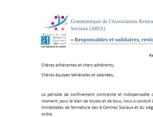 « Responsables et solidaires, restons en contact ! »