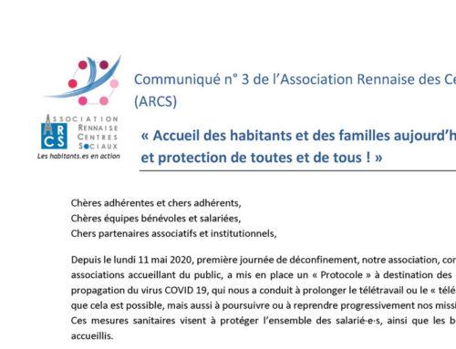 « Accueil des habitants et des familles aujourd'hui et demain… et protection de toutes et de tous ! »