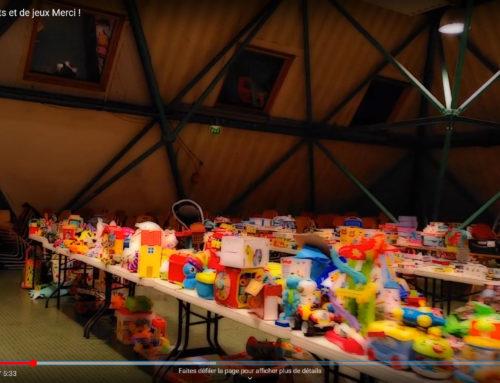 Distribution de jouets et de jeux
